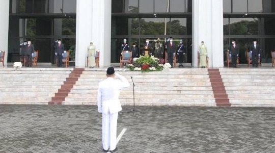 Pengadilan Militer III-17 Manado,Mengikuti Upacara HUT Mahkamah Agung RI,Secara Virtual