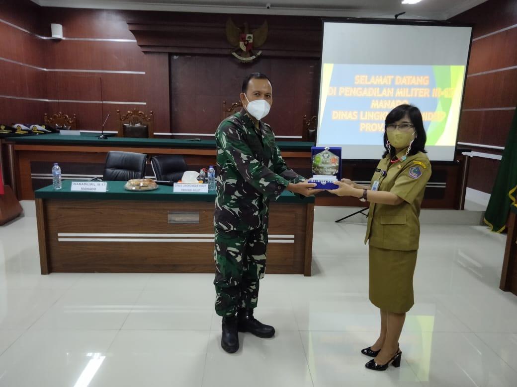 Sosialisasi Eco - Office Pengadilan Militer III-17 Manado