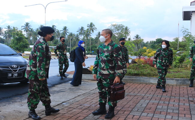 Pengadilan Militer III-17 Manado Kedatangan Tamu Tim Surveillance Akreditasi Ditjen Badilmiltun MARI