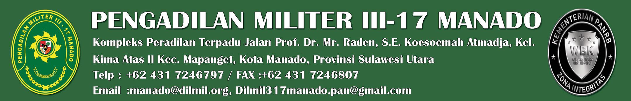 Pengadilan Militer III-17 Manado